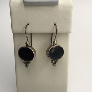Onyx Sterling Earrings